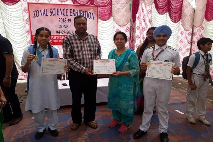 Guru Harkrishan Public School-Science Exhibition Award