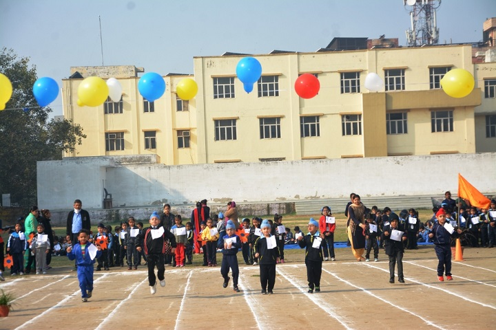 Guru Harkrishan Public School-Sports day