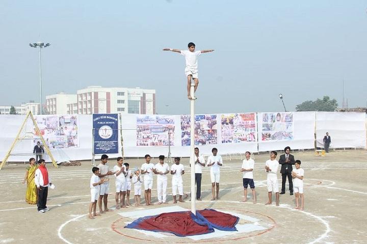 Guru Tegh Bahadur Public School-Gymnastics