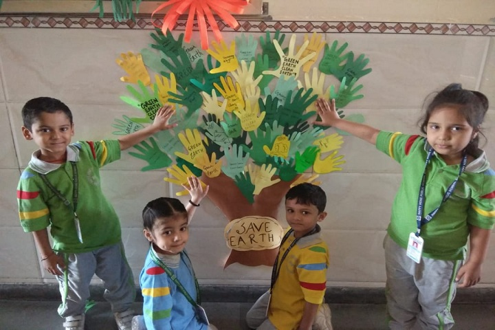 Happy Home Public School-Earth day celebration