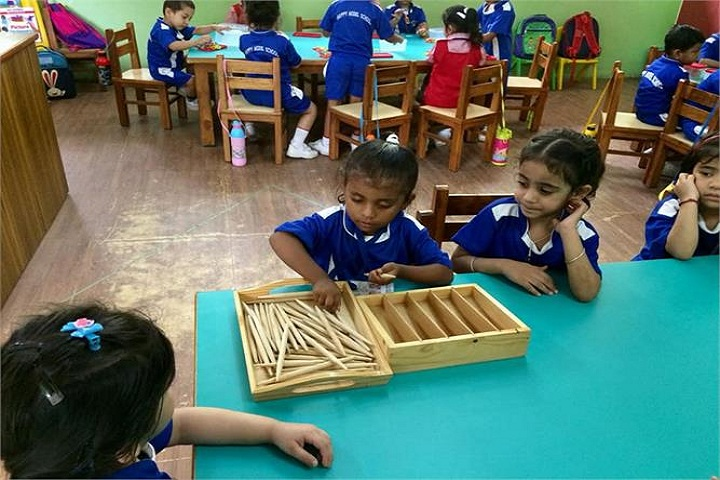 Happy Model School-Indoor Games