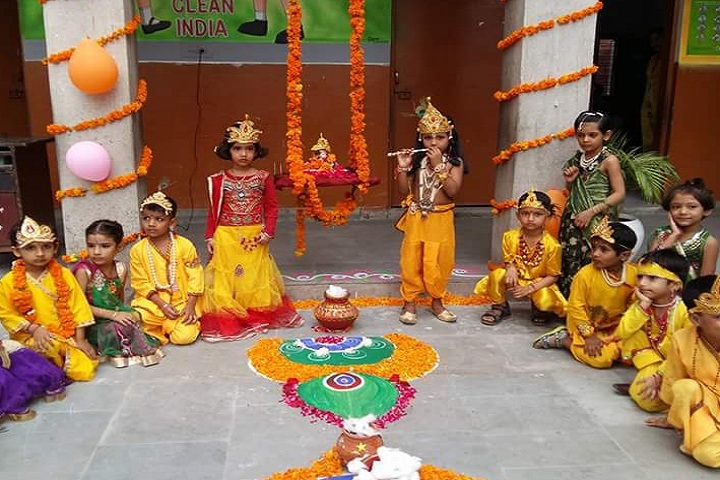 Hari Krishna Public School-Festival Celebration
