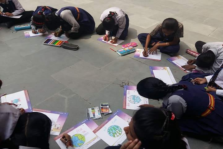 Hari Krishna Public School-Drawing