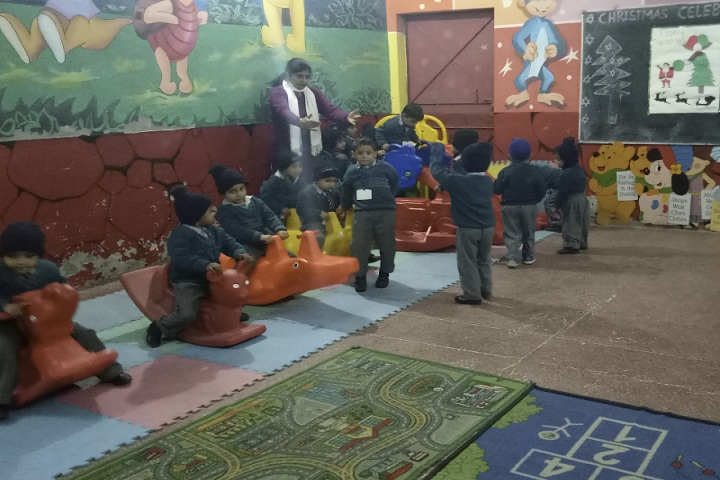 Hari Krishna Public School-Kids Play Area