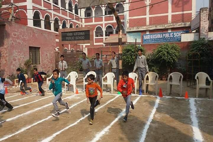Hari Krishna Public School-Running Competition