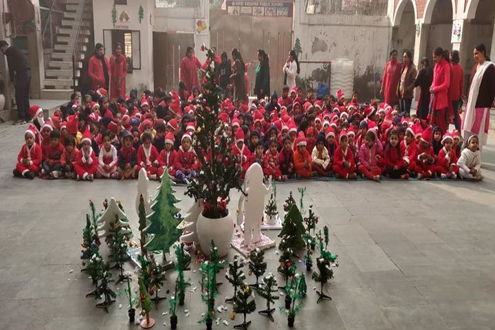 Hari Krishna Public School-Christmas Celebration