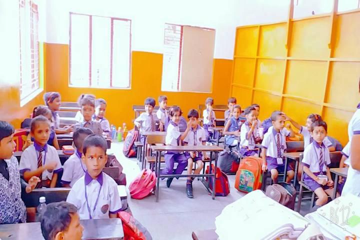 Hari Krishna Public School-Classroom