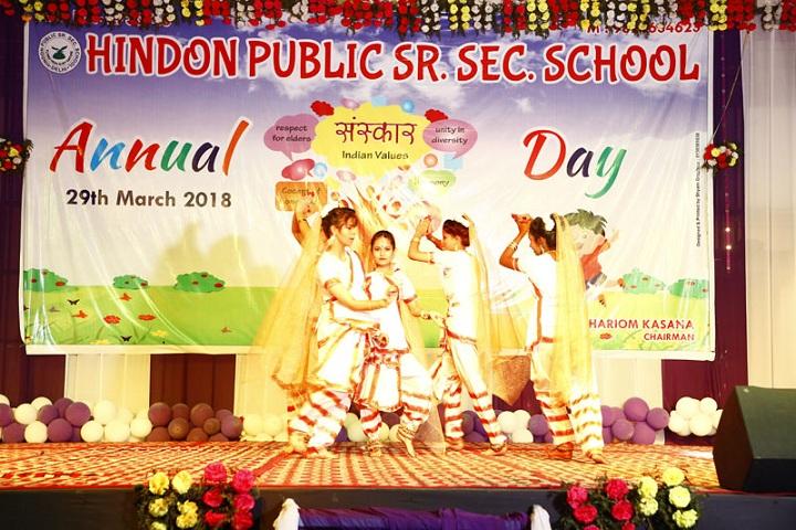 Hindon Public School-Annual day