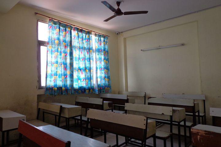 Indian Convent School-Senior Classroom