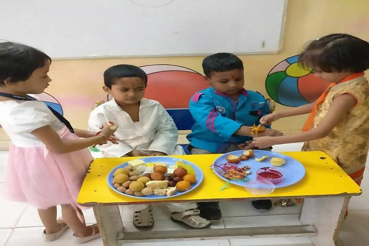 Indian Convent School- raksha bandhan celebration
