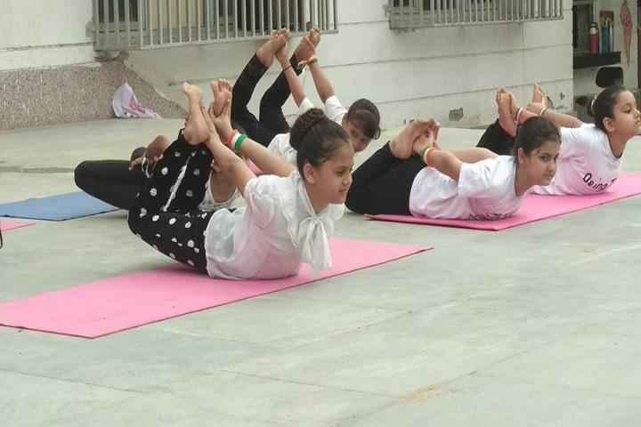 Indian Convent School- yoga