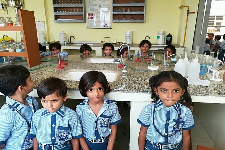 Indian Convent School-chemistry lab