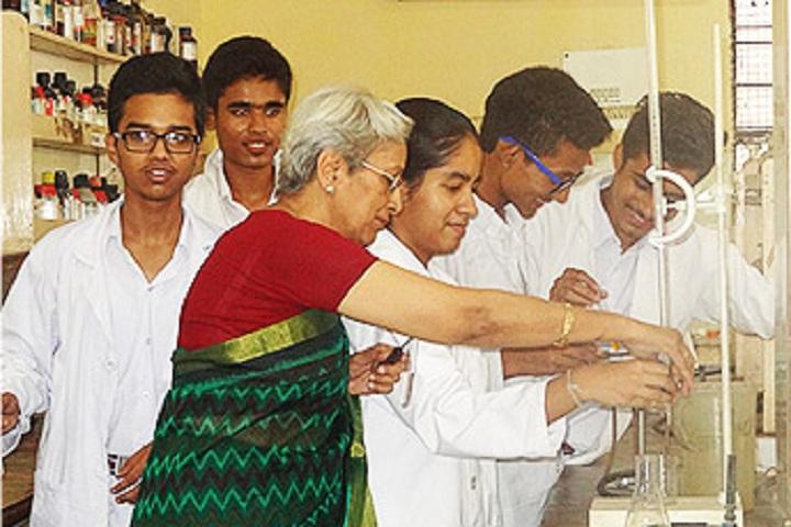 Indira Ideal School-Chemistry Lab