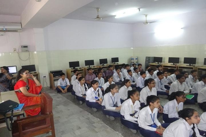 Indira Ideal School-Computer Lab
