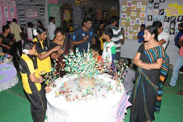 Sri Shridi sai Vidya niketan school- Art exhibition