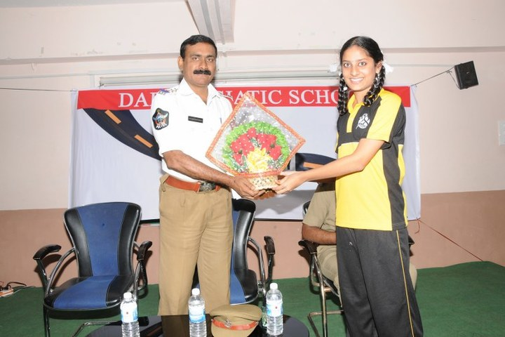 Sri Shridi sai Vidya niketan school- Road safety
