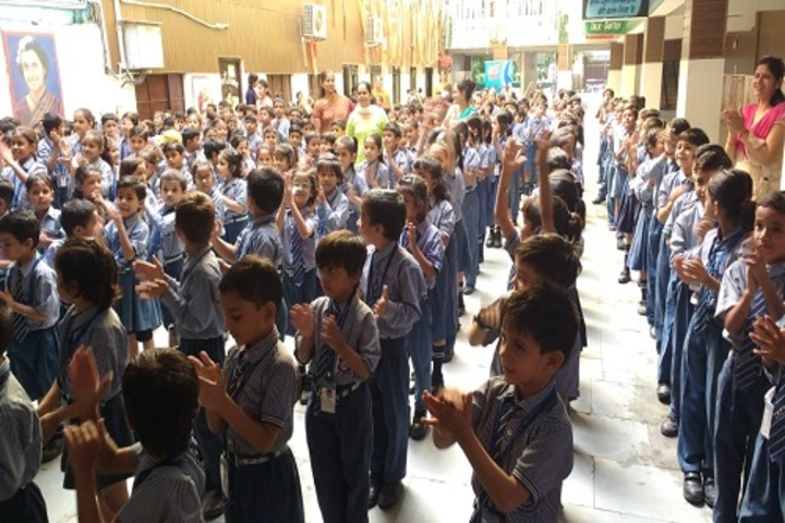 Indraprastha Convent School-Assembly