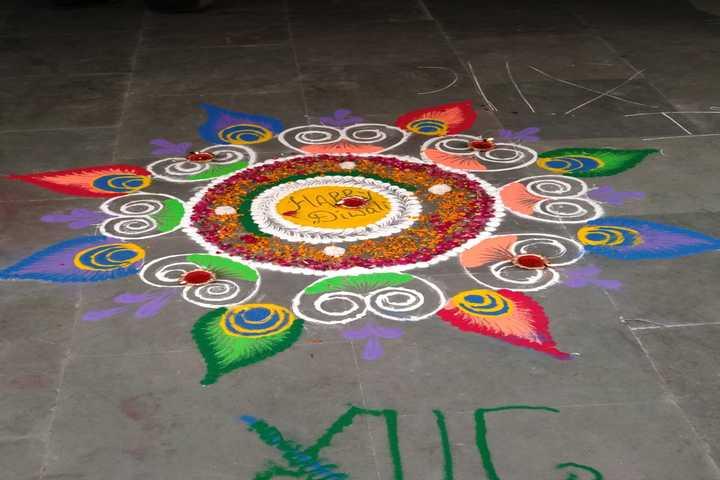Indraprastha Convent School-Rangoli