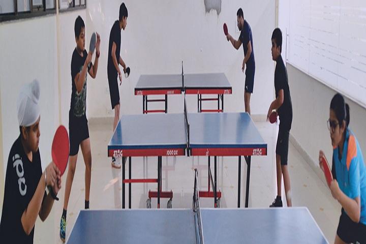 Indraprastha World School-Sports table tennis