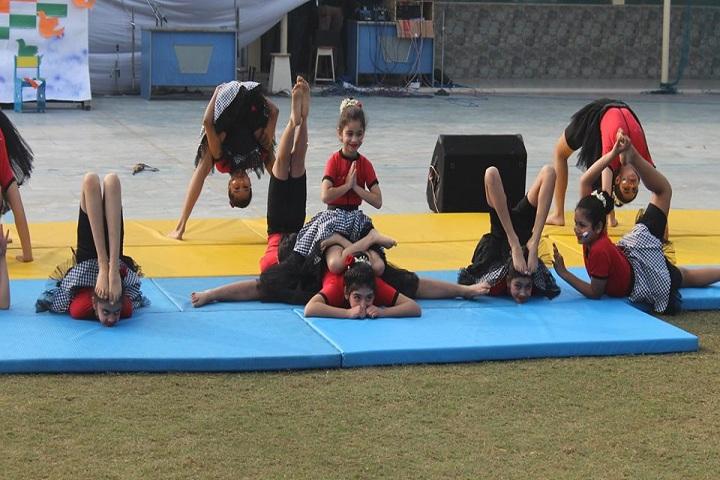 Indiraprastha public School - Yoga classes