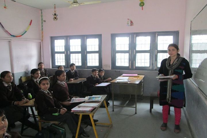 ITBP Public School-Classroom