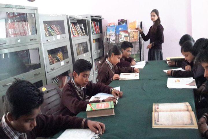 ITBP Public School-Library