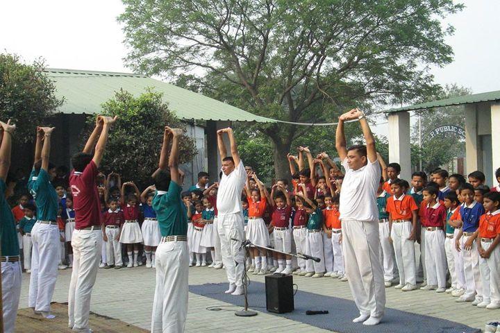 ITBP Public School-Yoga