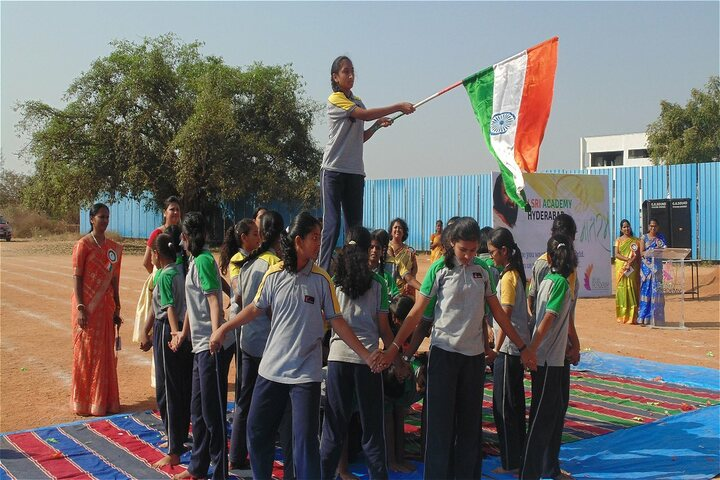 Sri Sri Academy-Republic Day Celebration