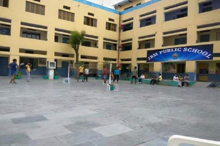 J B M Public School-School Building