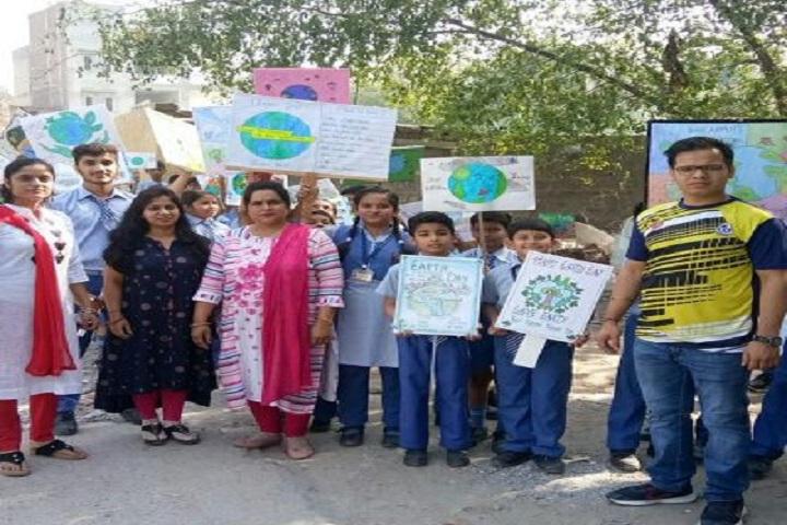 J B M Public School-Earth Day