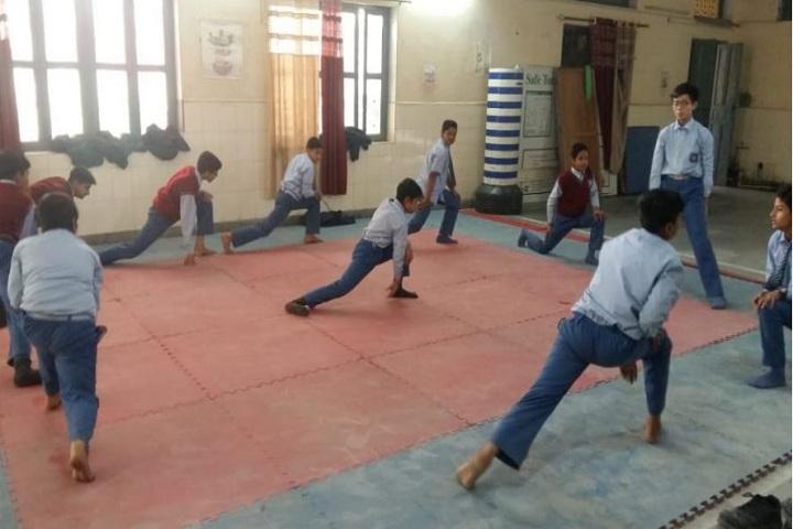 J B M Public School-Karate