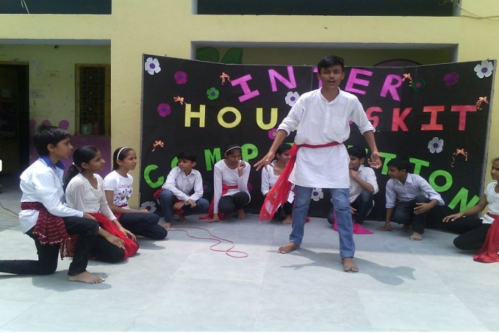 J B M Public School-Inter House Competition