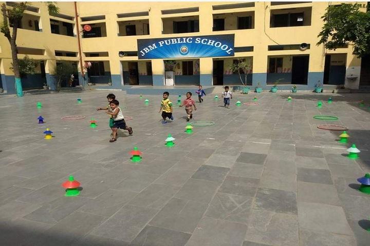 J B M Public School-Games