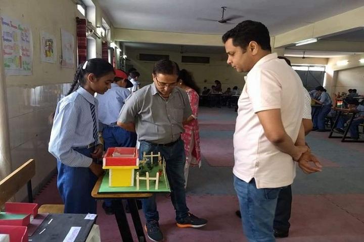 J B M Public School-School Exhibition