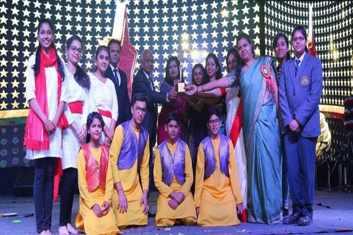 Jagannath Interational School-Award Receiving