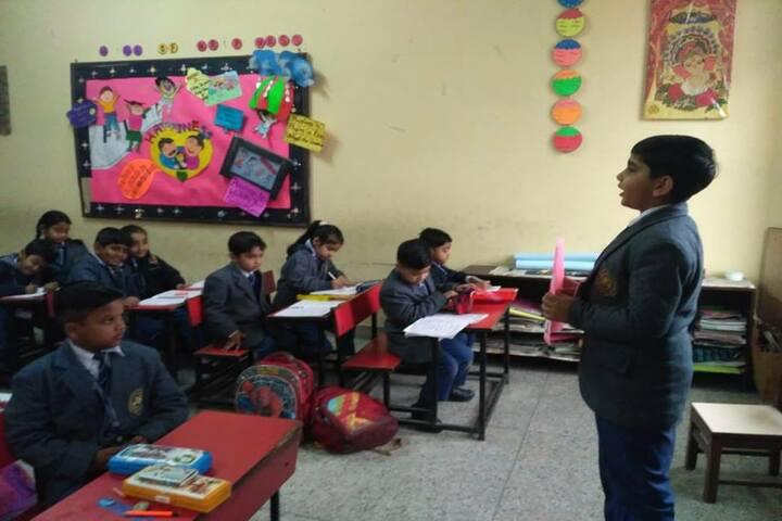 Jagannath Interational School-Classrooms