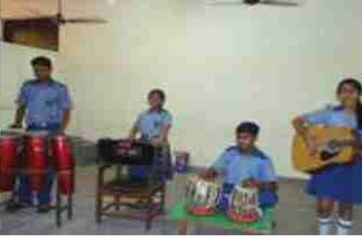 Jagannath Interational School-Music Room