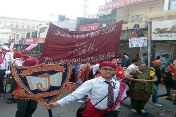 Jaspal Kaur Public School-Rally