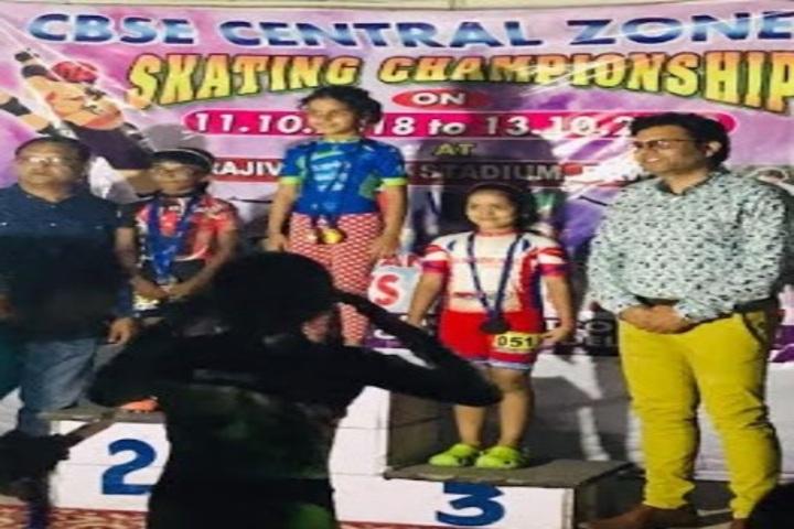 Jaspal Kaur Public School-Skating Winners
