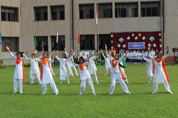Jesus Mary Joseph School-Republic day Celebration