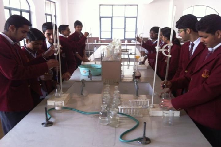 Jhabban Lal Dav Public School-Chemistry Lab