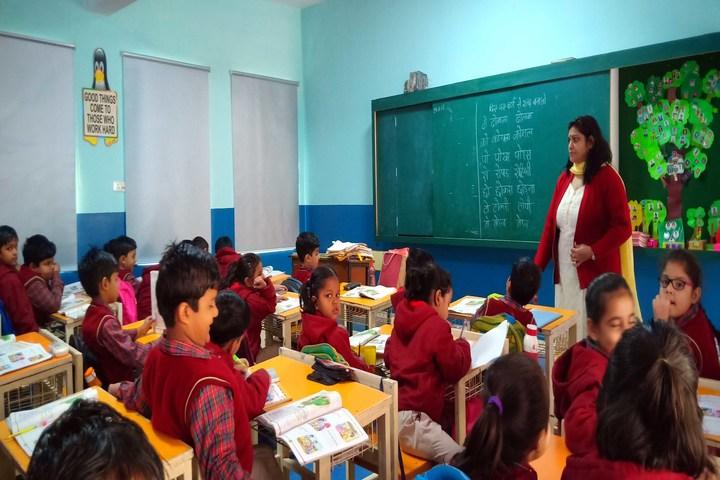 Jhabban Lal Dav Public School-Classroom