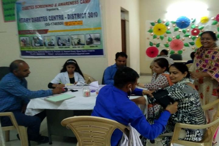 Jhabban Lal Dav Public School-Health Checkup