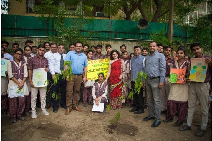 Jhabban Lal Dav Public School-Plantation