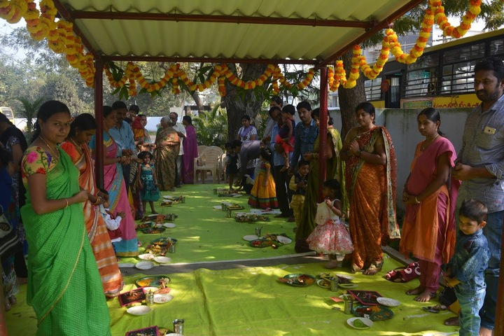 Sri Vijnana Vihara English Medium School-Vasantha Panchami Celebrations