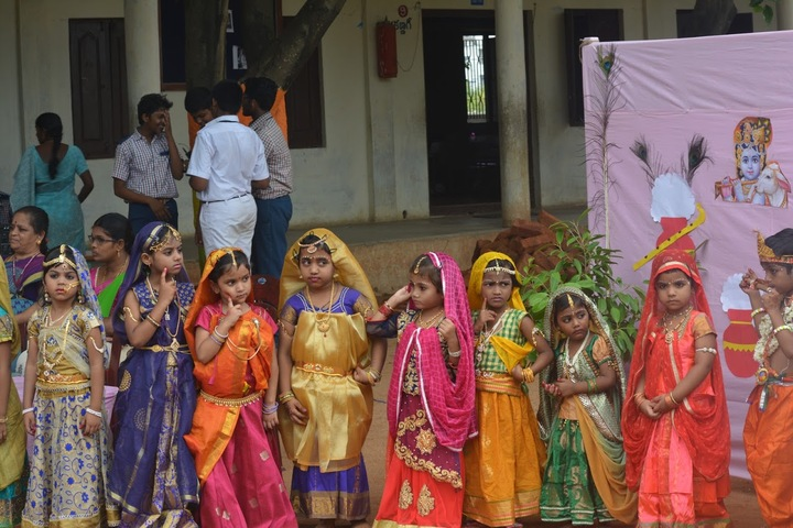 Sri Vijnana Vihara English Medium School-Krishna Jayanthi Celebrations