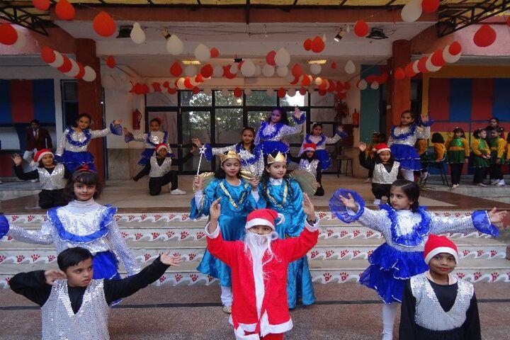 Jinvani Bharti Public School-Christmas Celebration