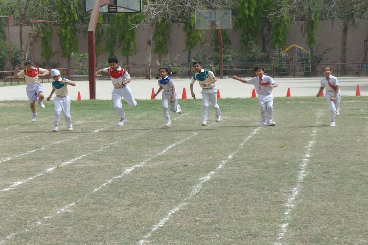 Jinvani Bharti Public School-Games