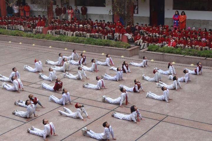 Jinvani Bharti Public School-Yoga