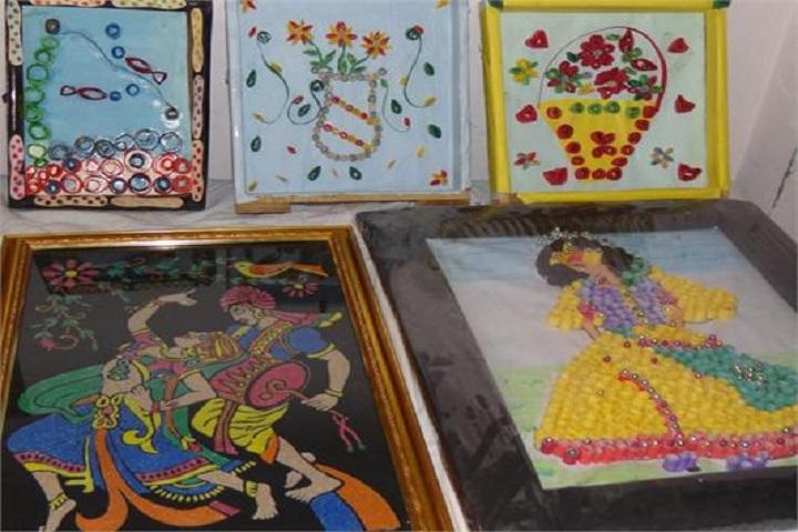 Jinvani Bharti Public School-Art Exhibition